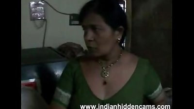 "Amateur indian housewife ""bhabhi"" changing her blouse exposing bigtits"